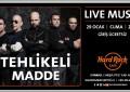 Usta Performansları İle Hard Rock Cafe İstanbul Sahnesinde