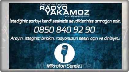 RADYO YAKAMOZ'DA MİKROFON SENDE